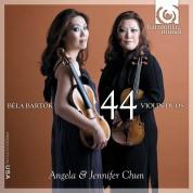 Angela Chun, Jennifer Chun: Bartok: 44 Violin Duos - CD