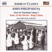 Keith Brion: Sousa, J.P.: Music for Wind Band, Vol.  2 - CD