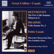 Beethoven / Brahms: Cello Sonatas (Casals) (1930-1939) - CD