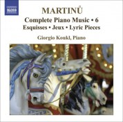 Giorgio Koukl: Martinu, B.: Complete Piano Music, Vol. 6 - CD
