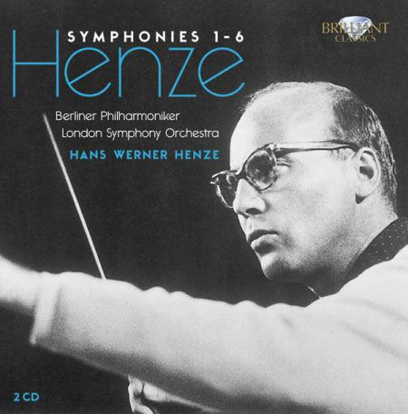 Berliner Philharmoniker, London Symphony Orchestra, Hans Werner Henze: Henze: Symphonies 1-6 - CD