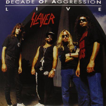 Slayer: Decade Of Aggression: Live - Plak