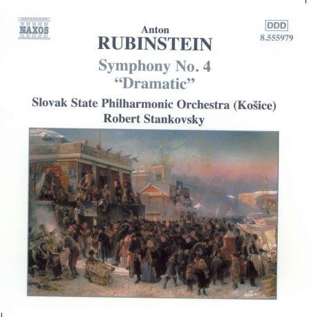Kosice Slovak State Philharmonic Orchestra, Robert Stankovsky: Rubinstein: Symphony No. 4, 'Dramatic' - CD