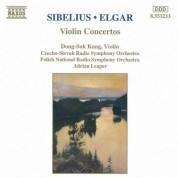 Dong-Suk Kang, Adrian Leaper: Sibelius & Elgar: Violin Concertos - CD