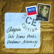 Vladimir Ashkenazy: Chopin: The Piano Works - CD