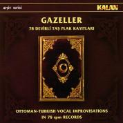 Çeşitli Sanatçılar: Gazeller - 78 Devirli Taş Plak Kayıtları - CD