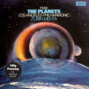 Zubin Mehta, Los Angeles Philharmonic: Holst: The Planets Op.32 - Plak