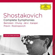 André Previn, Herbert von Karajan, Leonard Bernstein, Mstislav Rostropovich, Myung-Whun Chung, Neeme Järvi: Shostakovich: Complete Symphonies - CD