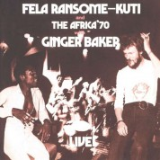 Fela Kuti: Fela With Ginger Baker - CD