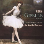 Academy of St. Martin in the Fields, Sir Neville Marriner: Adam: Giselle - CD