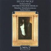 Dietrich Fischer Dieskau, Stefan Soltesz, Münchner Rundfunkorchester: Wolf: Orchesterlieder - Plak