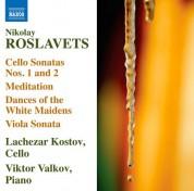 Lachezar Kostov: Roslavets: Works for Cello and Piano - CD