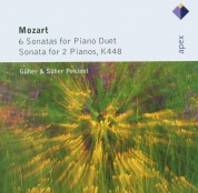 Güher & Süher Pekinel: Mozart: 6 Sonatas for Piano Duet / Sonata for 2 Pianos, K448 - CD