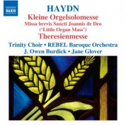Owen Burdick: Haydn: Kleine Orgelsolomesse - Theresienmesse - CD