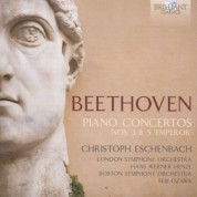 Christoph Eschenbach, London Symphony Orchestra, Hans Werner Henze: Beethoven: Piano Concerto 3 & 5