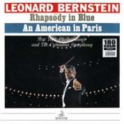 Columbia Symphony Orchestra, New York Philharmonic Orchestra, Leonard Bernstein: Gershwin: Rhapsody In Blue, An American In Paris - Plak