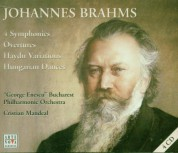 Cristian Mandeal, George Enescu Philharmonic Orchestra: Brahms, Haydn: Symphonies 1-4 / Overtures, Variations / Hungarian Dances - CD