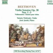 Takako Nishizaki: Beethoven: Violin Sonatas Nos. 6-8 - CD