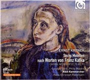 RIAS Kammerchor, Hans Christoph Rademann: Krenek: Seven Motets after Franz Kafka - CD
