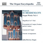 Julia Brown: Scheidemann: Organ Works, Vol. 4 - CD