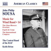 Keith Brion, Central Band of the Royal Air Force: Sousa: Music for Wind Band, Vol. 14 - CD