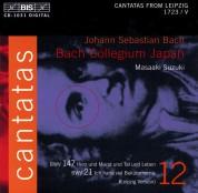 Bach Collegium Japan, Masaaki Suzuki: J.S. Bach: Cantatas, Vol. 12 (BWV 147, 21) - CD