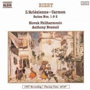Slovak Philharmonic Orchestra: Bizet: Carmen Suites Nos. 1 and 2 / L'Arlesienne Suites Nos. 1 and 2 - CD