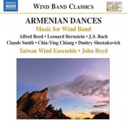 John P. Boyd, Taiwan Wind Ensemble: Armenian Dances - CD
