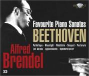 Alfred Brendel: Beethoven: Alfred Brendel Favourite Piano Sonatas - CD