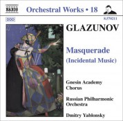 Dmitry Yablonsky: Glazunov, A.K.: Orchestral Works, Vol. 18 - Masquerade / 2 Pieces / Pas De Caractere / Romantic Intermezzo - CD