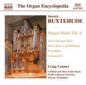 Craig Cramer: Buxtehude: Organ Music, Vol. 4 - CD