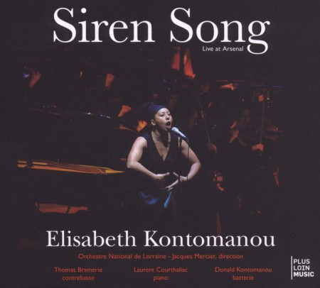Elisabeth Kontomanou: Siren Song: Live at Arsenal - CD