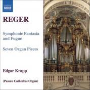 Edgar Krapp: Reger, M.: Organ Works, Vol.  7 - CD