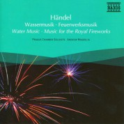 Andrew Mogrelia: Handel: Water Music & Music for the Royal Fireworks - CD