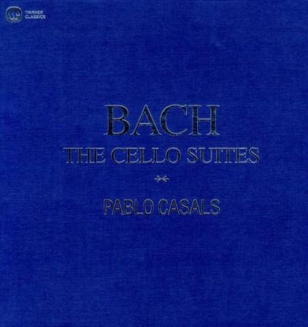 Pablo Casals: Bach: Cello Suites - Plak
