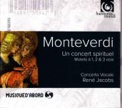 Concerto Vocale, René Jacobs: Monteverdi: Un Concert Spirituel - CD