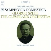 George Szell, The Cleveland Orchestra: Strauss: Symphonia Domestica Op.53 - Plak