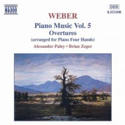 Weber: Overtures (Piano Arrangement) - CD
