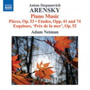 Adam Neiman: Arensky: Piano Music - CD