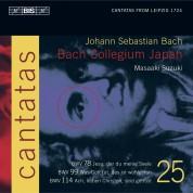 Yukari Nonoshita, Bach Collegium Japan, Masaaki Suzuki: J. S. Bach - Cantatas, Vol.25 (BWV 78, 99 and 114) - CD