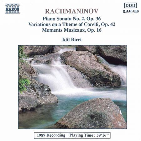 Rachmaninov: Variations On A Theme of Corelli / Moments Musicaux, Op. 16 - CD