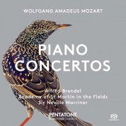 Alfred Brendel, Sir Neville Marriner, Academy of St. Martin in the Fields: Mozart: Piano Concertos Nos. 12 & 17 - SACD