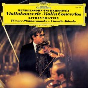 Nathan Milstein, Wiener Philharmoniker, Claudio Abbado: Tchaikovsky & Mendelssohn Bartholdy: Concertos for Violin and Orchestra - Plak