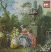 Gordon Hunt, London Mozart Players, Andrew Marriner, Jane Glover: Mozart: Clarinet Concerto, Clarinet Quintet, Oboe Quartet - CD