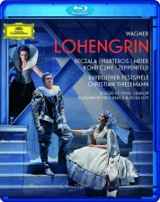 Anja Harteros, Piotr Beczala, Orchester der Bayreuther Festspiele, Christian Thielemann: Wagner: Lohengrin - BluRay