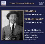 Artur Rubinstein: Brahms: Piano Concerto No. 2 / Tchaikovsky: Piano Concerto No. 1 (Rubinstein) (1929, 1932) - CD