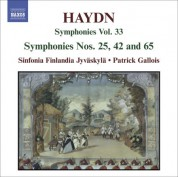 Sinfonia Finlandia: Haydn, J.: Symphonies, Vol. 33 (Nos. 25, 42, 65) - CD