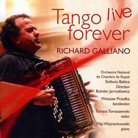 Richard Galliano: Tango Live Forever - CD