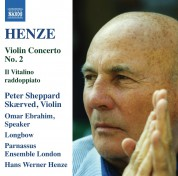 Peter Sheppard Skaerved: Henze: Violin Concerto No. 2 - CD