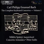 Miklós Spányi, Concerto Armonico, Péter Szűts: C.P.E. Bach: Keyboard Concertos, Vol. 1 - CD